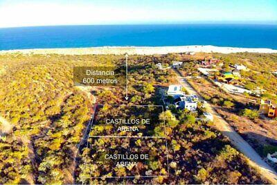 Se vende terreno con vista al mar en East Cape, Castillo de Arena comunidad cerrada y a...