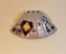 Lego Parts Pieces 30117 Old Light Gray 10x10x2.3 Quarter Saucer Top - UFO #LX173