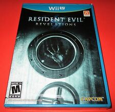 Resident Evil Revelations Nintendo Wii U *Factory Sealed! *Free Shipping!