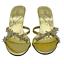 miniatura 21 - Señoras para mujer Sandalias De Boda Nupcial Diamante Gatito Tacón Fiesta Mocasines Reino Unido