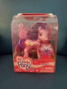 "My Little Pony G3 ""Kimono"" with Special Charm by Hasbro 2002"