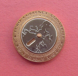 Image Is Loading Isle Of Man 2002 Euro Currency Converter 60