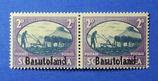1945 BASUTOLAND 2d SCOTT# 30 S.G.# 30 UNUSED PAIR                        CS20041