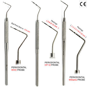 Periodontal Probe Measurements Periodontal Probes CP-...