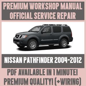 Workshop Manual Service Repair Guide For Nissan Pathfinder 2004 2012 Wiring Ebay