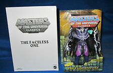 MASTERS OF THE UNIVERSE MOTU CLASSICS THE FACELESS ONE WITH WHITE BOX NEW