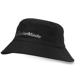 TaylorMade Golf Mens Storm Water Resistant Bucket Hat - Black - L XL ... 4db5ede8c90c