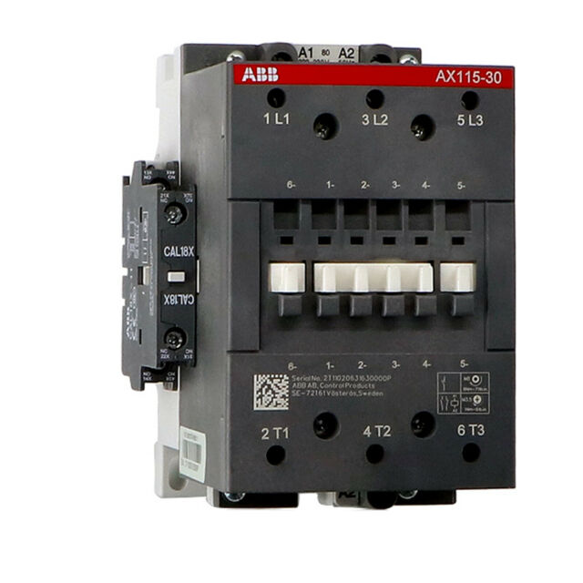 ABB Contactor AX25-30-01 220V 50//60Hz ONE-Year Warranty New In Box !