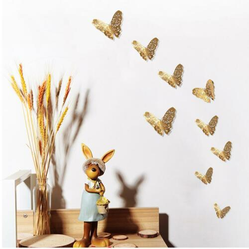 3D Butterflies Wall Stickers Decorations Childrens Bedroom Decals Decor T