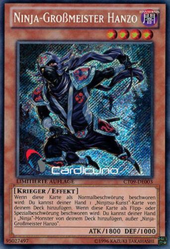 de la secret rare ct09-de003 Ninja-Grand Maître Hanzô