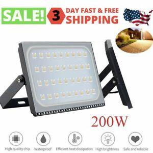 200W-Watt-Led-Flood-Light-Outdoor-Security-Garden-Yard-Spotlight-Lamp-110V