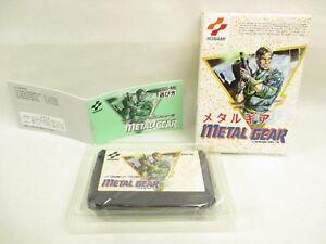 Metal-Gear-GOOD-Condition-Famicom-Nintendo-Japan-Game-fc