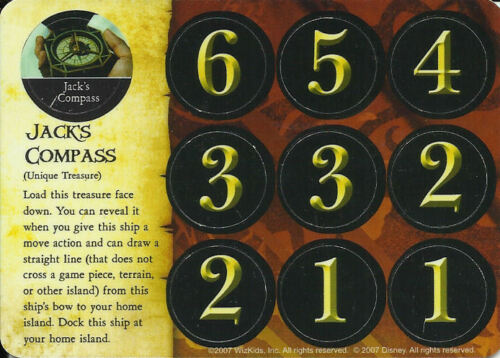 PIRATES OF THE CARIBBEAN 066 JACK/'S COMPASS