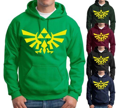 Zelda Triforce wing logo Hoodie Breath of Wild game Fan Gift Sweatshirts S-3XL