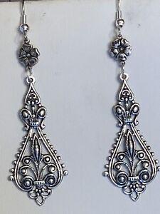 Art Deco Inspired Handcrafted Earrings