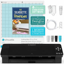 Silhouette Cameo 4 Electronic Cutter Black