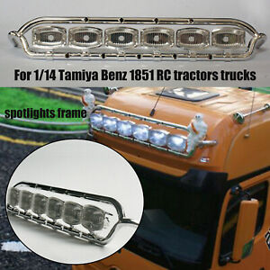 Lesu-faros-marco-spotlights-Frame-Set-para-1-14-Tamiya-Benz-1851-RC-Car