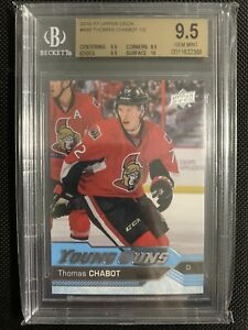 2016-17-UPPER-DECK-THOMAS-CHABOT-YOUNG-GUNS-RC-BGS-9-5-HIGH-SUB