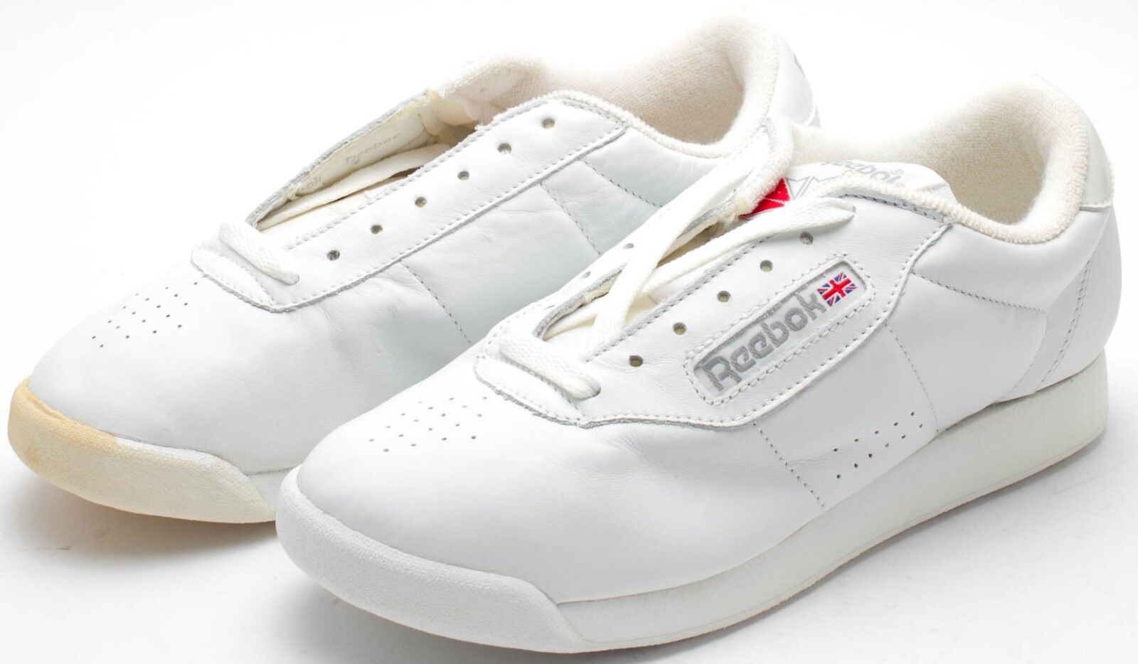 Reebok Damen Vintage 5055cms OG Prinzessin Schuhe weiß 2-1475 Größe 6 6 Größe Verfärbung deda22