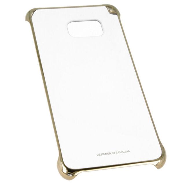 transparent doré Étui Coque Pour Samsung Galaxy S6 Edge G925 Coque Rigide