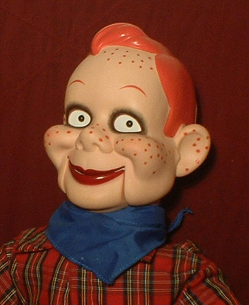 Haunted ventrílocuo Muñeca  ojos te siga  maniquí de máscara de marioneta ESPELUZNANTE PAYASO
