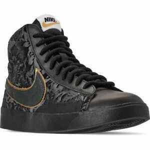 Nike Blazer Mid Women's Shoes Black