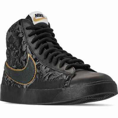 oferta Cava Egoísmo  Nike Blazer Mid Women's Shoes Black/Metallic Gold Multi-Size AV8437 001 |  eBay