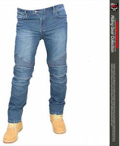 hose moto motorrad jeans denim schutz komine hosen ebay. Black Bedroom Furniture Sets. Home Design Ideas