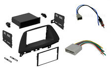 2 Single Double DIN Car Dash Kit w/ Antenna + harness Combo Honda Odyssey