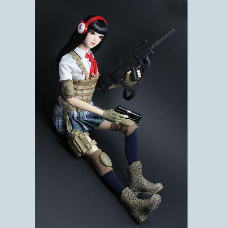 TIANYIMEI   Scale Battle Beauty Set rosso Scarf Suit 12  Action Figure NIB