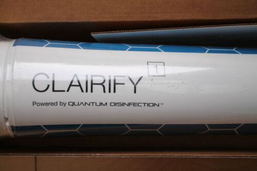 Clairify 1 QUANTUM disinfezione CARTUCCIA DEPURAZIONE DELLE ACQUE-NUOVO e SIGILLATO
