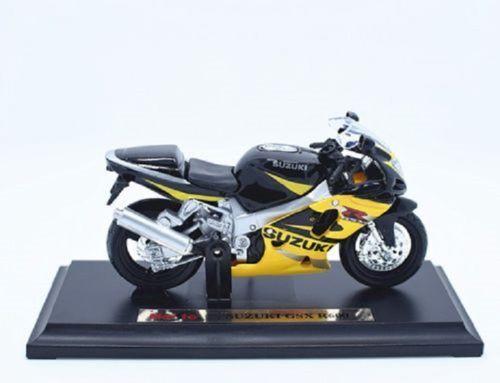MAISTO 1:18 Suzuki GSX R600 MOTORCYCLE BIKE DIECAST MODEL TOY NEW IN BOX