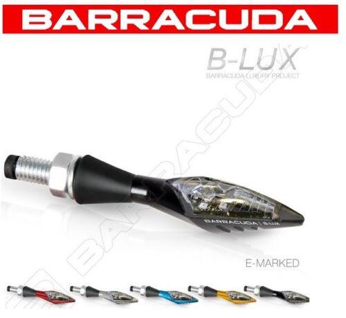 COPPIA FRECCE MOTO BARRACUDA X-LED B-LUX OMOLOGATI LED MOTO HONDA CB 1000R