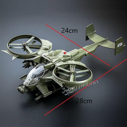 1//48 Avatar Scorpion Gunship Model Battle Airplane Simulated Military Model Toys
