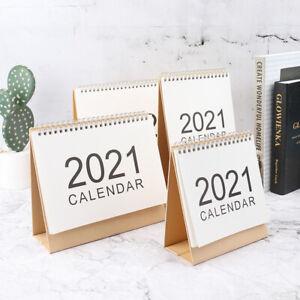 Desk Calendar Daily Schedule Mini 2021 Calendar Daily Scheduler Planner calendar