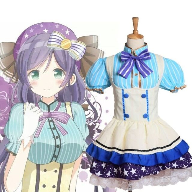 Women Nozomi Tojo Star Tutu Dress Kawaii Anime Love Live Girl S