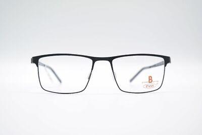 Herzhaft Vintage B Pass P429-567 52[]17 140 Schwarz Oval Brille Eyeglasses Nos Dinge FüR Die Menschen Bequem Machen