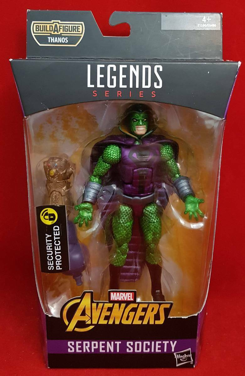 MARVEL LEGENDS SERPENT SOCIETY Avengers Infinity War THANOS  Build Figure E1390