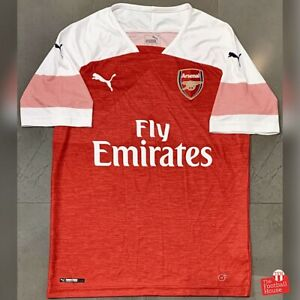 Authentic-Puma-Arsenal-2018-19-Home-Jersey-BNWOT-Size-M