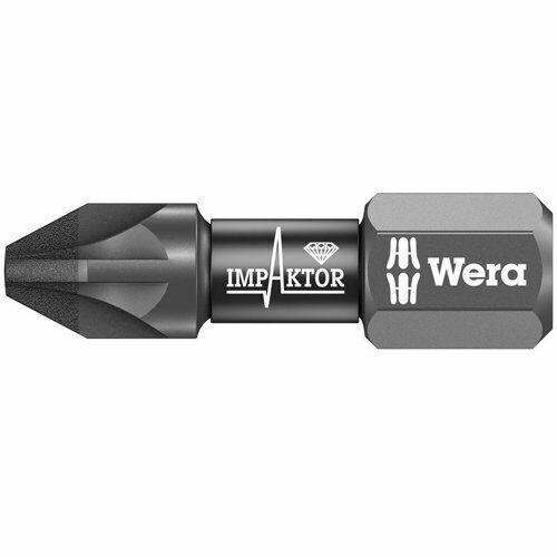 Wera WER073922 855//1 Impaktor Bit Pozi PZ3 x 25mm