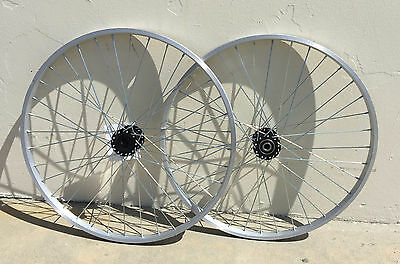 """24/"""" ALLOY TRICYCLE HOLLOW HUB WHEELSET RIGHT//LEFT FOR 15MM AXLE TRIKE BIKES!"""