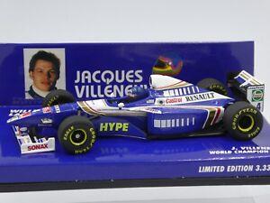Minichamps-1-43-Jacques-Villeneuve-Williams-F1-launch-version-1998-Champion-1997