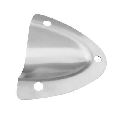 Stainless Steel Clam Shell Vent Hose Cable Cover for Marine Boat Yacht