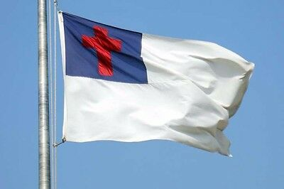 the Christian FLAG pledge 5X3 FeeT Wall decoration christ ...