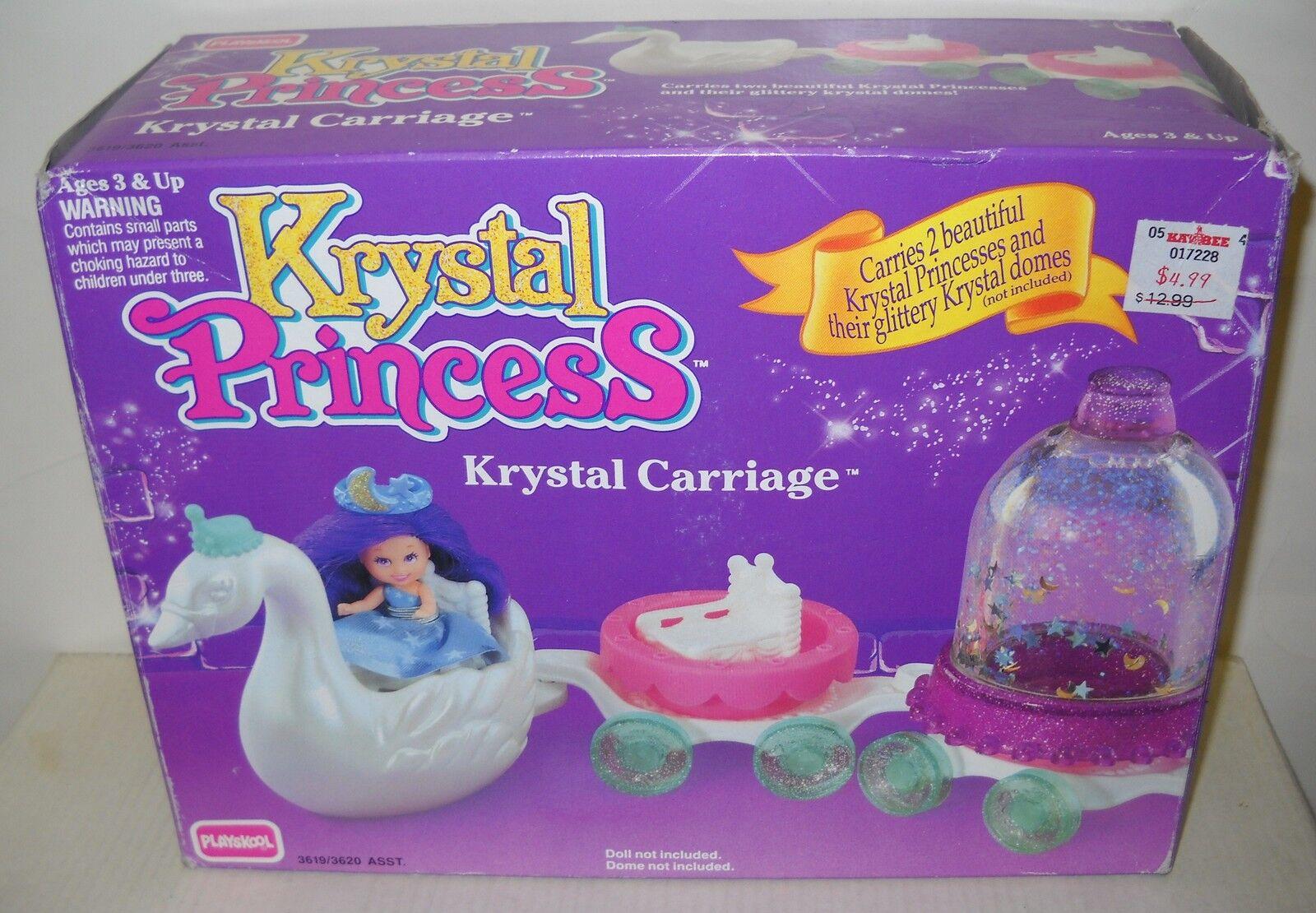 Nunca quitado de la Caja Playskool Krystal Princesa Accesorio Carro Krystal