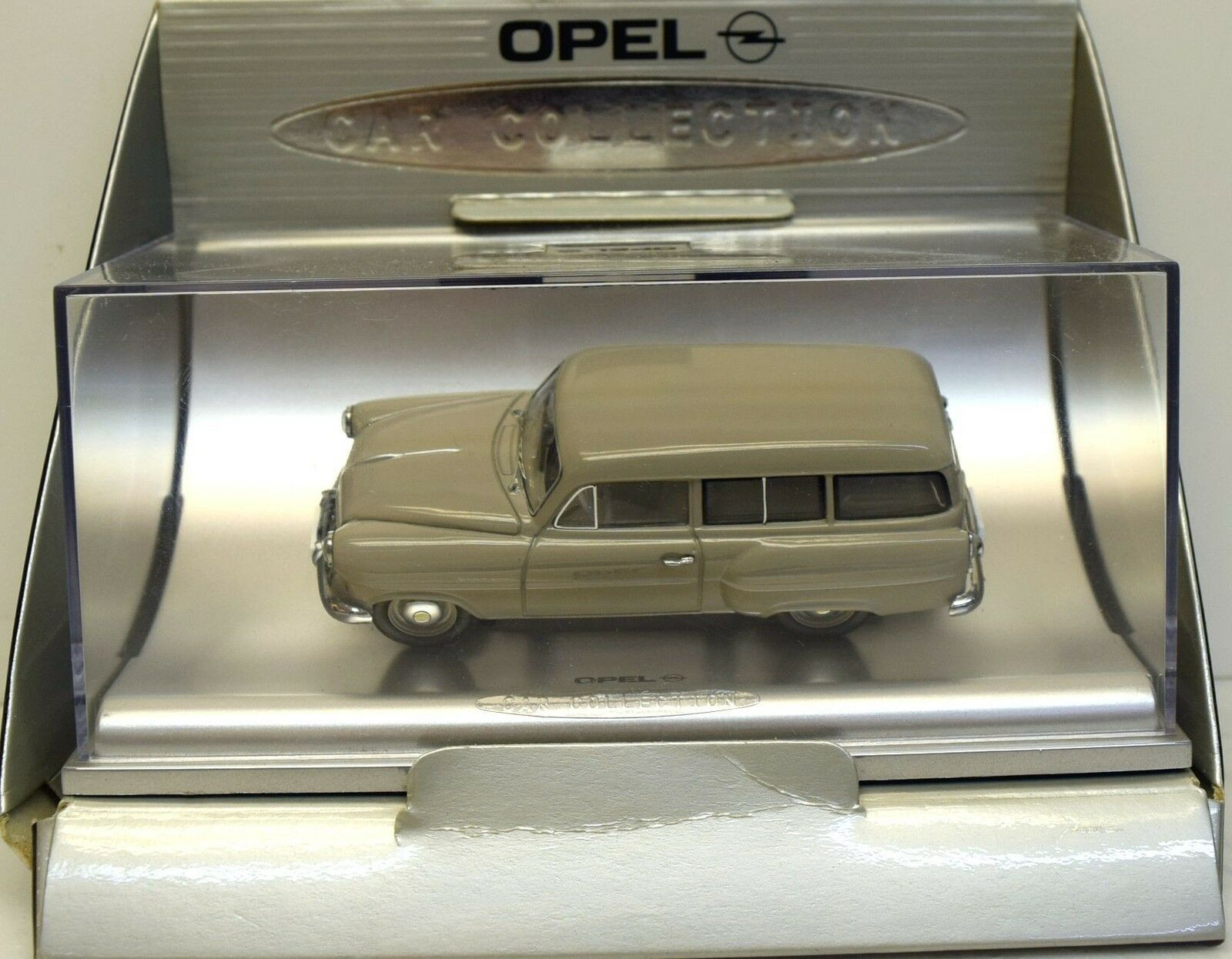 Opel Opel Opel Car Collection Opel Olympia Caravan, 1953, grey 1 43 7afb73