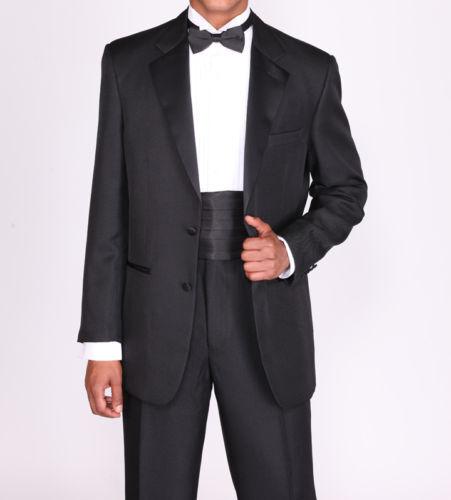 Men/'s 2 Botton Hight Stylish Fashion  Black /& White Tuxedo  Suit   T-702