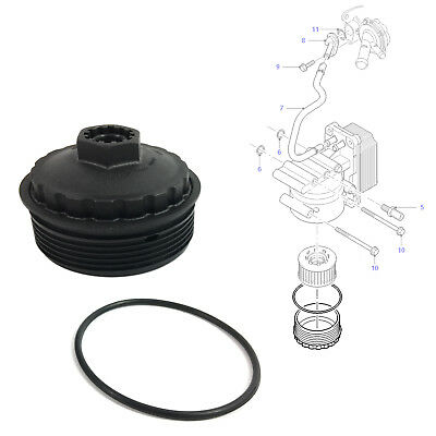 Tout Neuf Ford Mondeo 3 III TRANSIT MK6 Diesel Oil Filter Housing Cover Cap