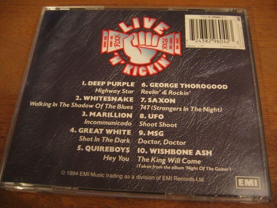 Div.: Live 'N' Kickin', rock