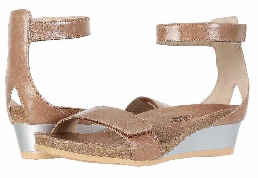 Naot mermaid ARIZONA marrón leather wedge sandals mujer Tallas 5-11 36-42